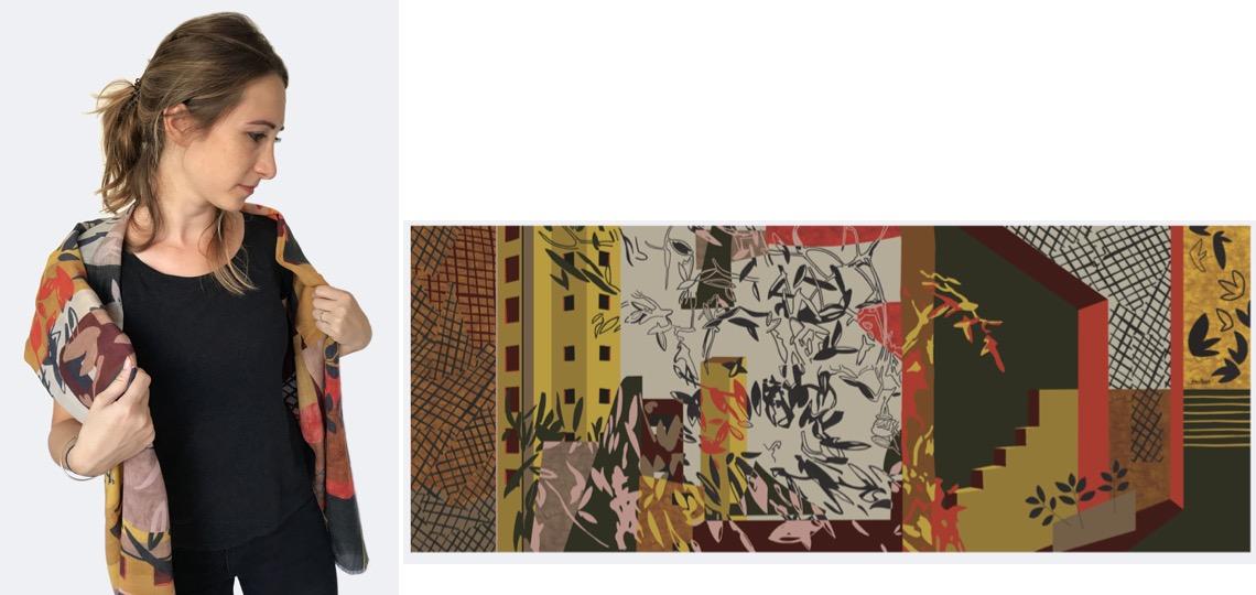 L'imprimé foulard, la tendance printemps-été